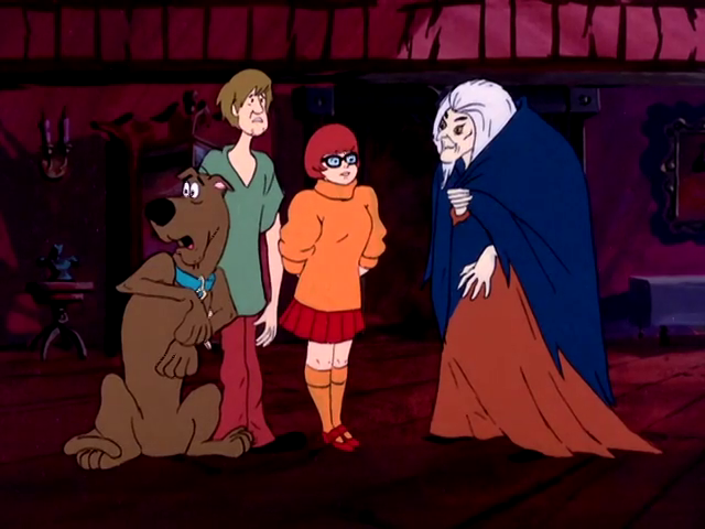 A Scooby-Doo-show